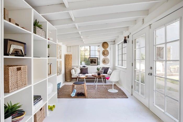 inside ty pennington's bright home in venice, california